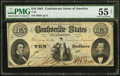 Confederate Notes:1861 Issues, T25 $10 1861.. ...
