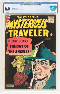 Tales of the Mysterious Traveler #8 (Charlton, 1958) CBCS FN+ 6.5 Off-white to white pages