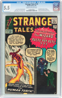 Strange Tales #110 (Marvel, 1963) CGC FN- 5.5 Cream to off-white pages