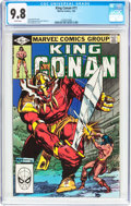 Modern Age (1980-Present):Miscellaneous, King Conan #11 (Marvel, 1982) CGC NM/MT 9.8 White pages....