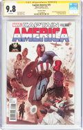 Modern Age (1980-Present):Superhero, Captain America #25 Wizard World Austin Exclusive ConventionEdition - Signature Series (Marvel, 2014) CGC NM/MT 9.8 Whitepag...
