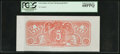 Confederate Notes:Group Lots, $5 Chemicograph Back Intended for Confederate Currency ND (1864).....