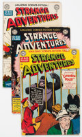Golden Age (1938-1955):Science Fiction, Strange Adventures Group of 4 (DC, 1950-51) Condition: AverageGD+.... (Total: 4 Comic Books)