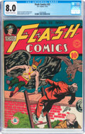 Golden Age (1938-1955):Superhero, Flash Comics #23 (DC, 1941) CGC VF 8.0 Off-white to white pages....