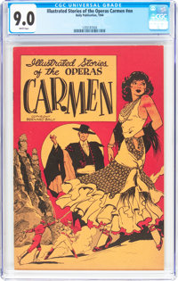 Illustrated Stories of the Operas #nn Carmen (Baily Publication, 1944) CGC VF/NM 9.0 White pages