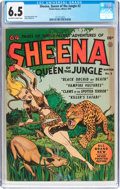 Golden Age (1938-1955):Adventure, Sheena, Queen of the Jungle #2 (Fiction House, 1942) CGC FN+ 6.5 Off-white to white pages....