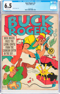 Golden Age (1938-1955):Science Fiction, Buck Rogers #3 (Eastern Color, 1941) CGC FN+ 6.5 Off-white pages....