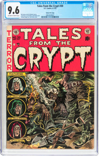 Tales From the Crypt #30 Gaines File Pedigree 11/12 (EC, 1952) CGC NM+ 9.6 Off-white to white pages