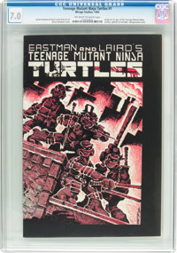 Teenage Mutant Ninja Turtles #1 (Mirage Studios, 1984) CGC FN/VF 7.0 Off-white to white pages