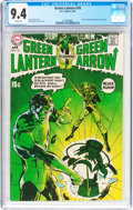 Bronze Age (1970-1979):Superhero, Green Lantern #76 (DC, 1970) CGC NM 9.4 White pages....