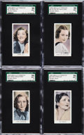 "Non-Sport Cards:Sets, 1939 Abdulla Tobacco ""Screen Stars"" High Grade SGC Near Set(38/40)...."