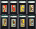 """Non-Sport Cards:Sets, 1910 E27 American Caramel """"Teddy's Trophies"""" SGC Graded CompleteSet (30). ..."""
