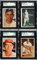 Baseball Cards:Sets, 1957 Topps Baseball Complete Set (407) Plus All Checklists. ...