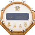 Movie/TV Memorabilia:Awards, An Ernest Borgnine Elaborate 'Navy Band' Award, 2002....