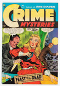Golden Age (1938-1955):Horror, Crime Mysteries #15 (Ribage Publishing, 1954) Condition: VG+....