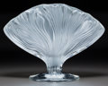 Art Glass:Lalique, Lalique Clear and Frosted Glass Ichor Vase. In originalLalique box.. Late 20th century. Engraved Lalique, Fra...