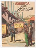 Golden Age (1938-1955):Non-Fiction, America Under Socialism #nn (National Research Bureau, 1950) Condition: VG....