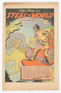 Golden Age (1938-1955):Non-Fiction, The Plot to Steal the World #nn (Work & Unity Group, 1948)Condition: VG+....