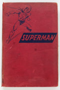Memorabilia:Comic-Related, The Adventures of Superman Hardcover Book (Random House, 1942) Condition: Apparent GD....