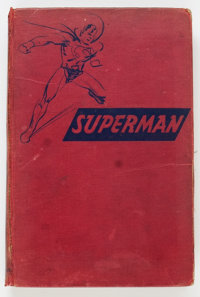 The Adventures of Superman Hardcover Book (Random House, 1942) Condition: Apparent GD