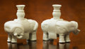 Asian:Chinese, Nine Chinese Blanc-de-Chine Elephant-Form Vases. 7 h x 7 w inches(17.8 x 17.8 cm). ... (Total: 9 Items)