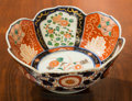 Asian:Japanese, A Japanese Imari Porcelain Floriform Bowl. 3-1/2 h x 8-3/4 d inches(8.9 x 22.2 cm). ...