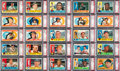 Baseball Cards:Sets, 1960 Topps Baseball PSA Graded Near Set (500/572) - Every CardNM-MT to MINT! ...