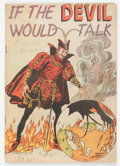Golden Age (1938-1955):Religious, If the Devil Would Talk nn (Impact, 1950) Condition: VG+....