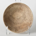 Judaica:Archaeology, JUDAEA-SAMARIA. Byzantine era, circa 400-600 CE. Large pottery incantation bowl. ...
