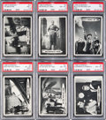 Non-Sport Cards:Sets, 1966 Topps Superman High End Near Set (65/66). ...