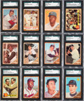 Baseball Cards:Sets, 1962 Topps Baseball Complete Set (598) Plus Variations (6). ...
