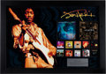 Music Memorabilia:Awards, Jimi Hendrix In-House Platinum Record Sales Award for NumerousAlbums (2010)....