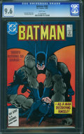 Modern Age (1980-Present):Superhero, Batman #402 (DC, 1986) CGC NM+ 9.6 White pages.