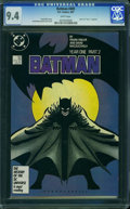 Modern Age (1980-Present):Superhero, Batman #405 (DC, 1987) CGC NM 9.4 White pages.