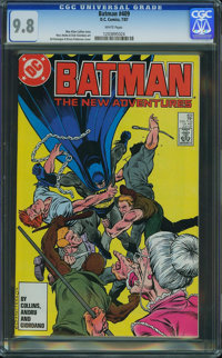 Batman #409 (DC, 1987) CGC NM/MT 9.8 White pages