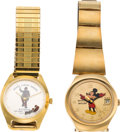 Movie/TV Memorabilia:Instruments , An Ernest Borgnine Pair of Wristwatches, 1980s.... (Total: 2 Items)