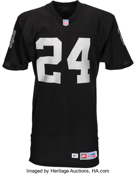 promo code 3f7f9 22d60 1998 Charles Woodson Game Worn Oakland Raiders Rookie Jersey ...