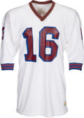 Football Collectibles:Uniforms, 1971-72 Jim Plunkett Game Worn New England Patriots Jersey - Photo Matched!...