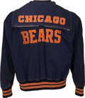 Football Collectibles:Uniforms, 1950's-60's Chicago Bears Game Worn Sideline Jacket With Possible Attribution to Brian Piccolo.. ...
