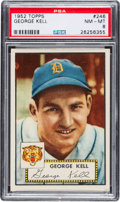 Baseball Cards:Singles (1950-1959), 1952 Topps George Kell #246 PSA NM-MT 8....