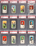 Baseball Cards:Lots, 1909-11 T206 Piedmont/Old Mill Southern Leaguers Partial Set(32/48). ...