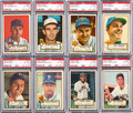 Baseball Cards:Lots, 1952 Topps Baseball PSA EX-MT 6 Collection (38). ...