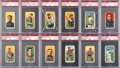 Baseball Cards:Lots, 1909-11 T206 White Border PSA VG-EX 4 Collection (111). ...