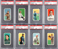Baseball Cards:Lots, 1909-11 T206 White Border PSA VG-EX+ 4.5 Collection (20). ...