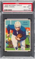 Football Cards:Singles (Pre-1950), 1935 National Chicle Ernie Caddel #30 PSA NM-MT+ 8.5 - Pop One, TwoHigher. ...