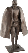 Football Collectibles:Others, 1969 NFL Man of the Year Original Bronze Sculpture....