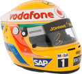 Miscellaneous Collectibles:General, 2009 Lewis Hamilton Signed Limited Edition Helmet....