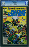 Modern Age (1980-Present):Superhero, Rocket Raccoon #3 (Marvel, 1985) CGC NM 9.4 White pages.