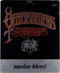 Music Memorabilia:Posters, Quicksilver Messenger Service Promo Poster For Debut LP (Capitol,1968)....