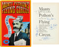 "Movie/TV Memorabilia:Autographs and Signed Items, A Monty Python Cast-Signed Copy of ""Monty Python's Flying CircusJust the Words"" Book...."